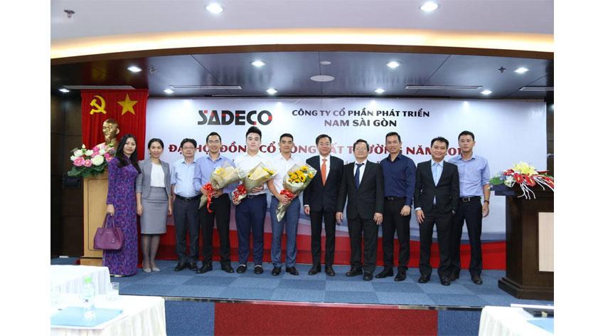 Sadeco: Phiên họp Đại hội đồng Cổ đông bất thường năm 2017