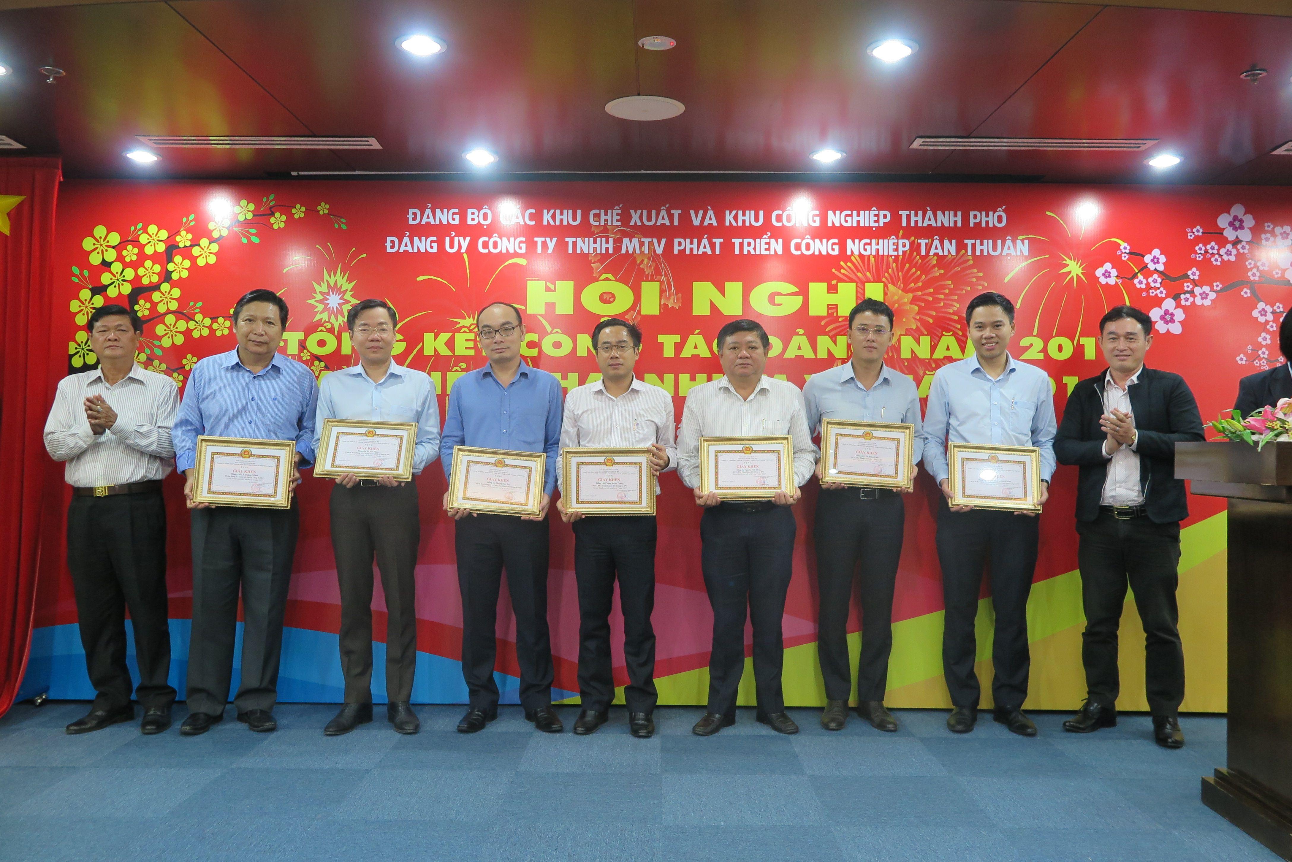 Tổng kết hoạt động năm 2017 của Đảng bộ IPC