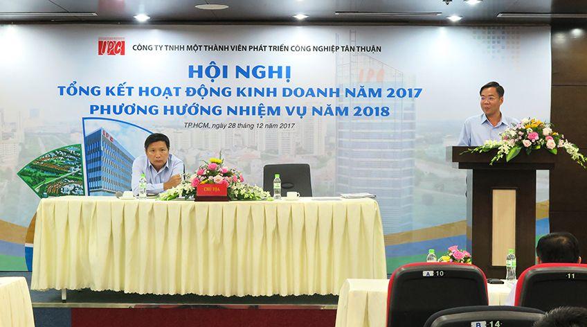 Hội nghị Tổng kết Hoạt động kinh doanh năm 2017 và  Phương hướng nhiệm vụ năm 2018