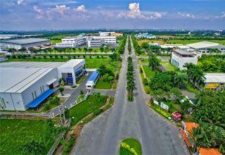 """KCN: Long Hậu: """"Đất lành"""" cho doanh nghiệp ổn định và phát triển"""