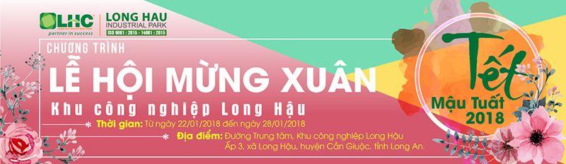 Rộn ràng Lễ Hội Mừng Xuân 2018 tại KCN Long Hậu