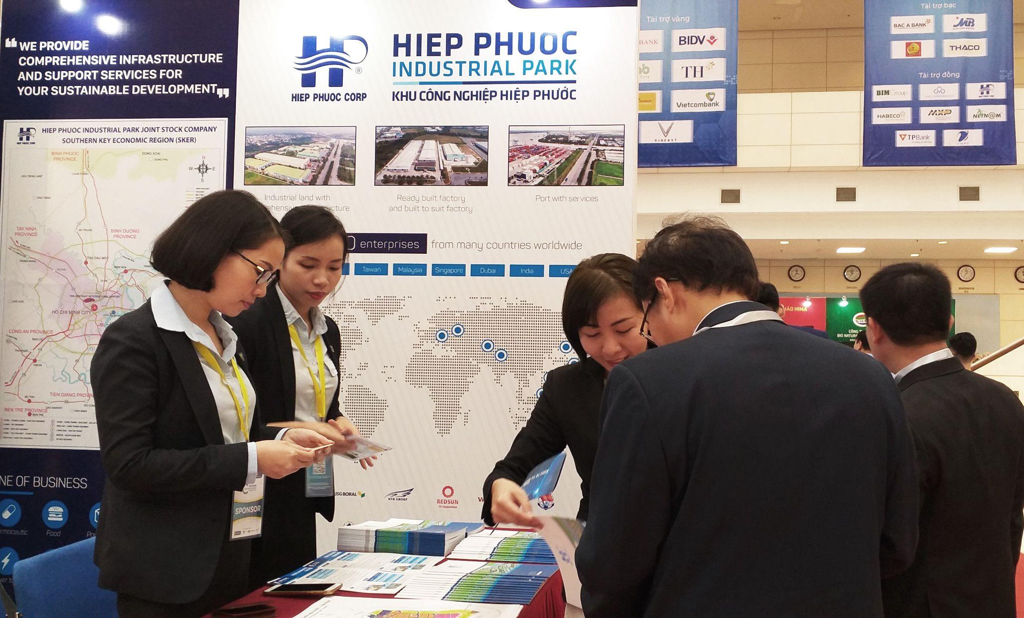 Công ty CP KCN Hiệp Phước đồng hành cùng Diễn đàn Kinh tế Tư nhân lớn nhất Việt Nam