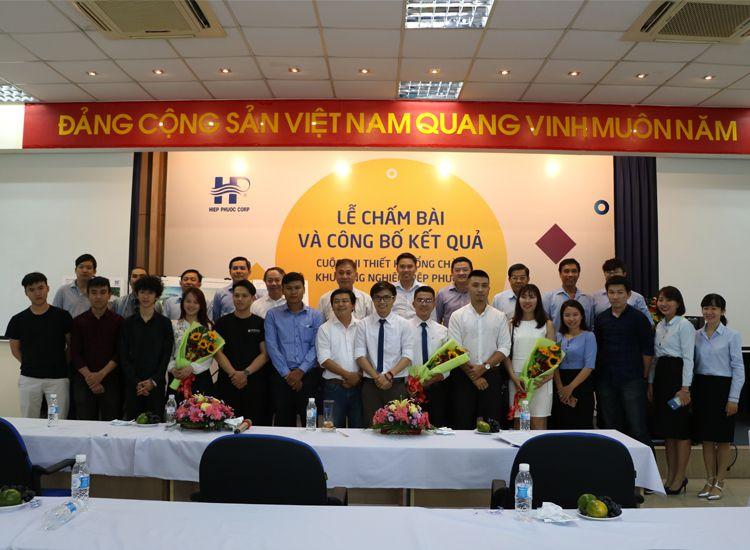 Lễ Trao Giải Cuộc thi thiết kế Cổng chào Khu Công nghiệp Hiệp Phước
