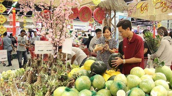CPI tháng 2 tăng 0,73% do nhu cầu mua sắm tết