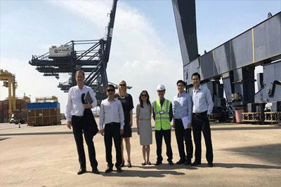 Đoàn công tác cảng Rotterdam đến thăm và làm việc với Công ty TNHH Một Thành Viên Phát Triển Công Nghiệp Tân Thuận (IPC)